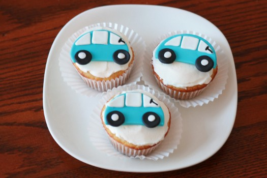 How to Make Car Cupcake Toppers