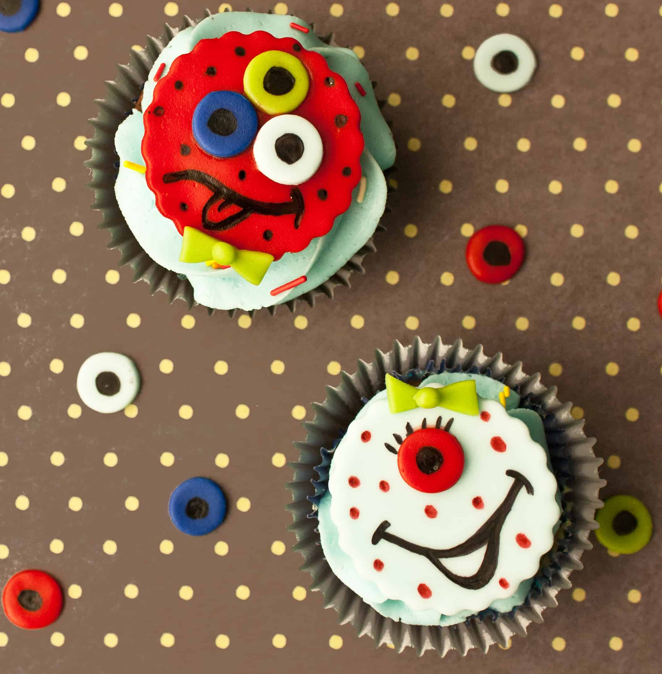 Video: How to make monster cupcake toppers