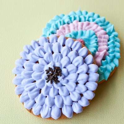 How to Make Chrysanthemum Cookies