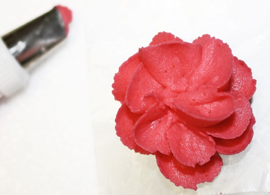 royal icing flower 10