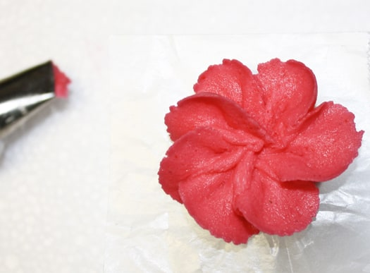 royal icing flower 8