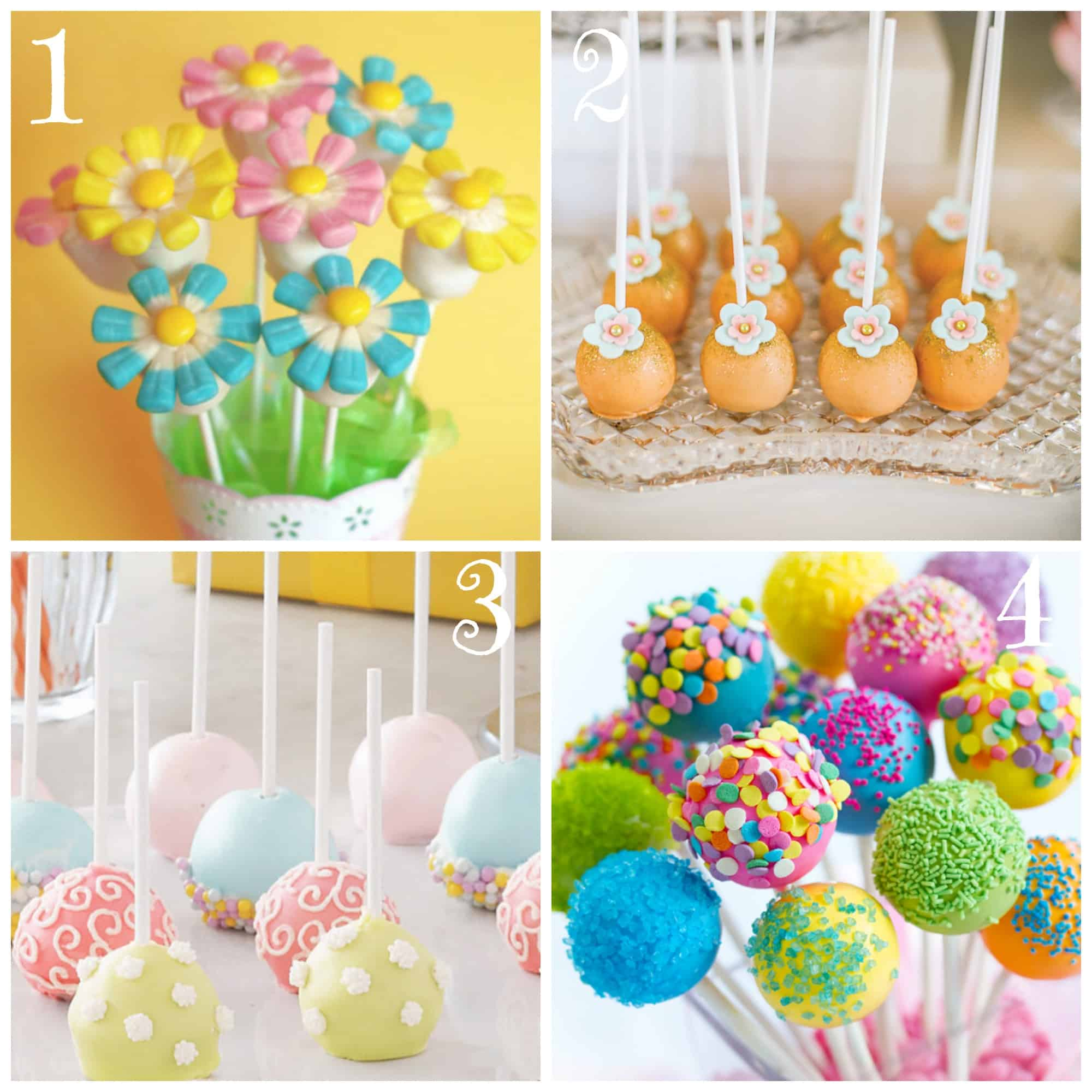 Easy Cake Pop Decorating