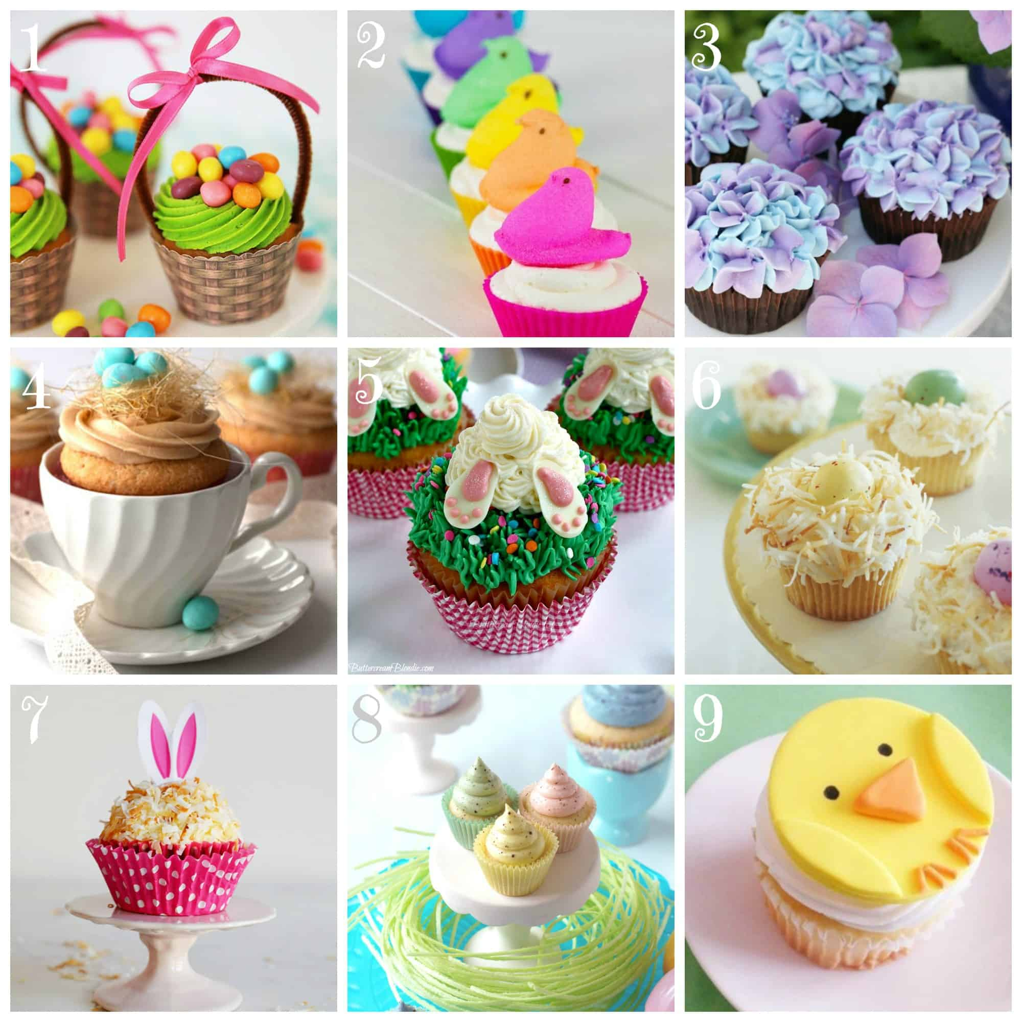 "9 ""Egg-stra"" Special Easter Cupcake Recipes!"