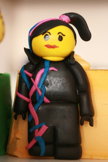 How to Make Lego Movie Wyldstyle Figurine Cake Topper