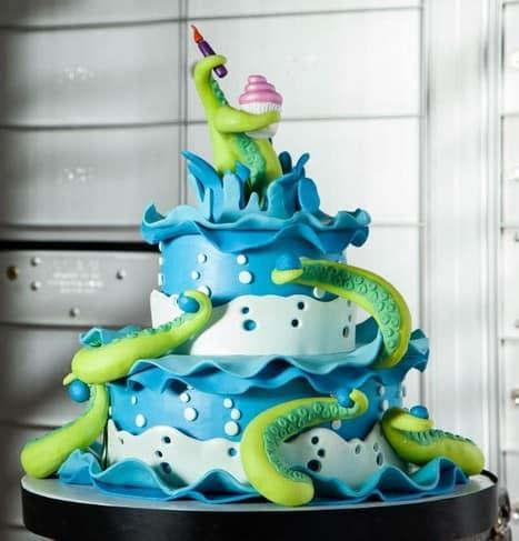 Sea Creature Cake