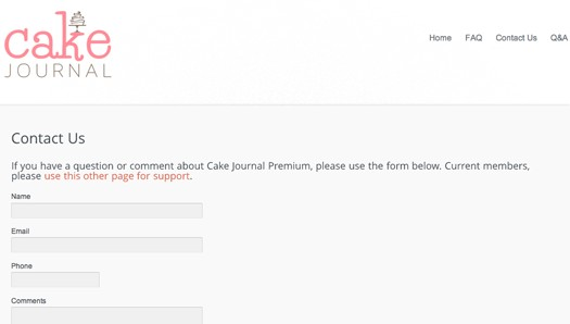 cakejournal premium 9