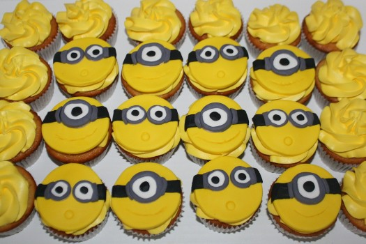 minion cupcake toppers