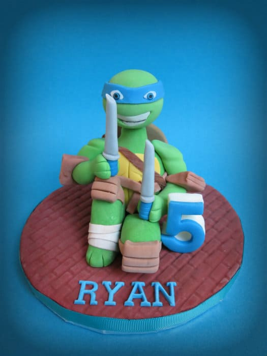How to make a Teenage Mutant Ninja Turtle Cake Topper CakeJournalcom