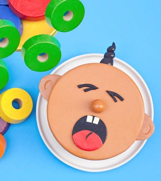 crying baby cake