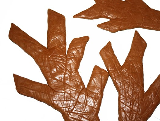 how to make a modeling chocolate tree 2