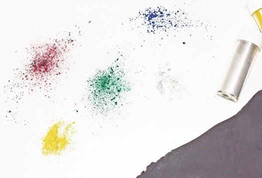how to make multicolored diamond tiles 11