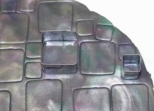how to make multicolored diamond tiles 5
