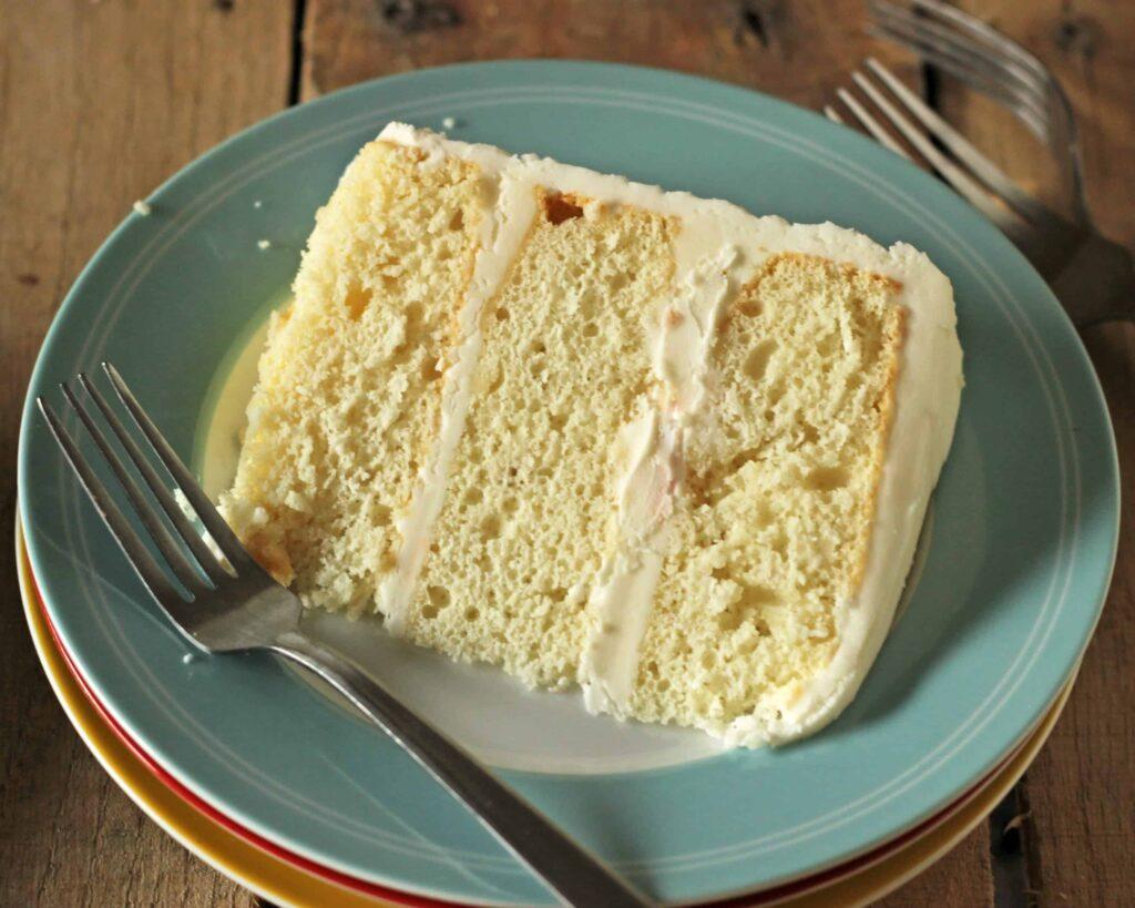 white cake recipes with sour cream