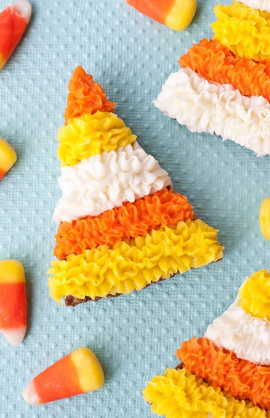 candy corn inspired cookies 8