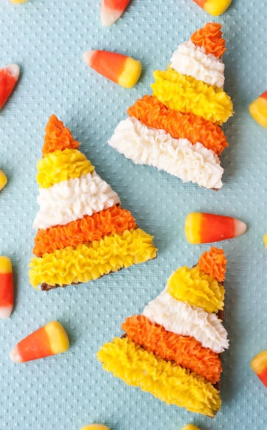 candy corn inspired cookies 9