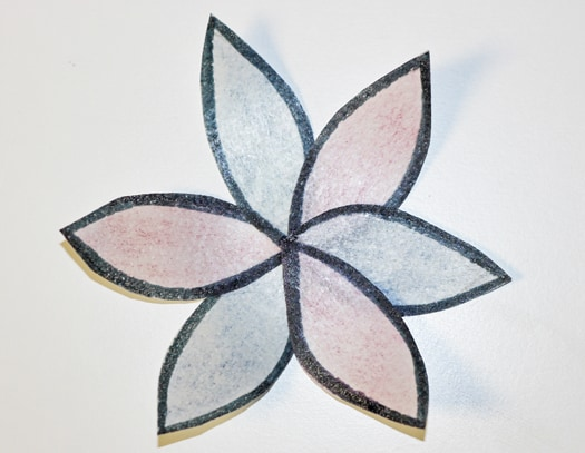 easy and bold wafer paper flower 7