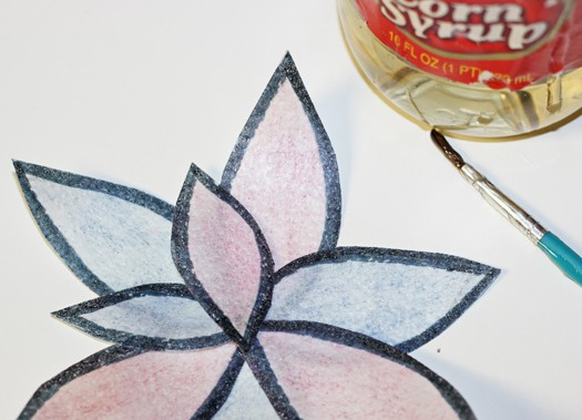 easy and bold wafer paper flower 8