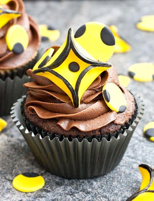 geometric diamonds and circle cupcakes 1