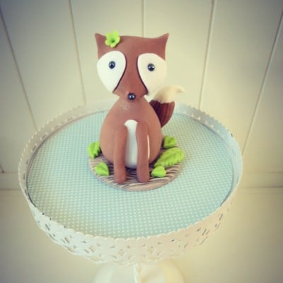 Tutorial: How To Make A Fox Cake Topper