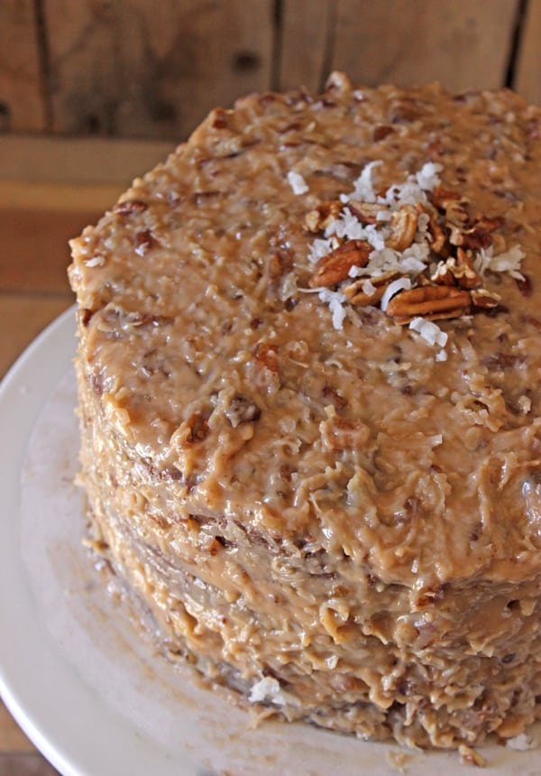 German Chocolate Cake Frosting Recipe Without Coconut