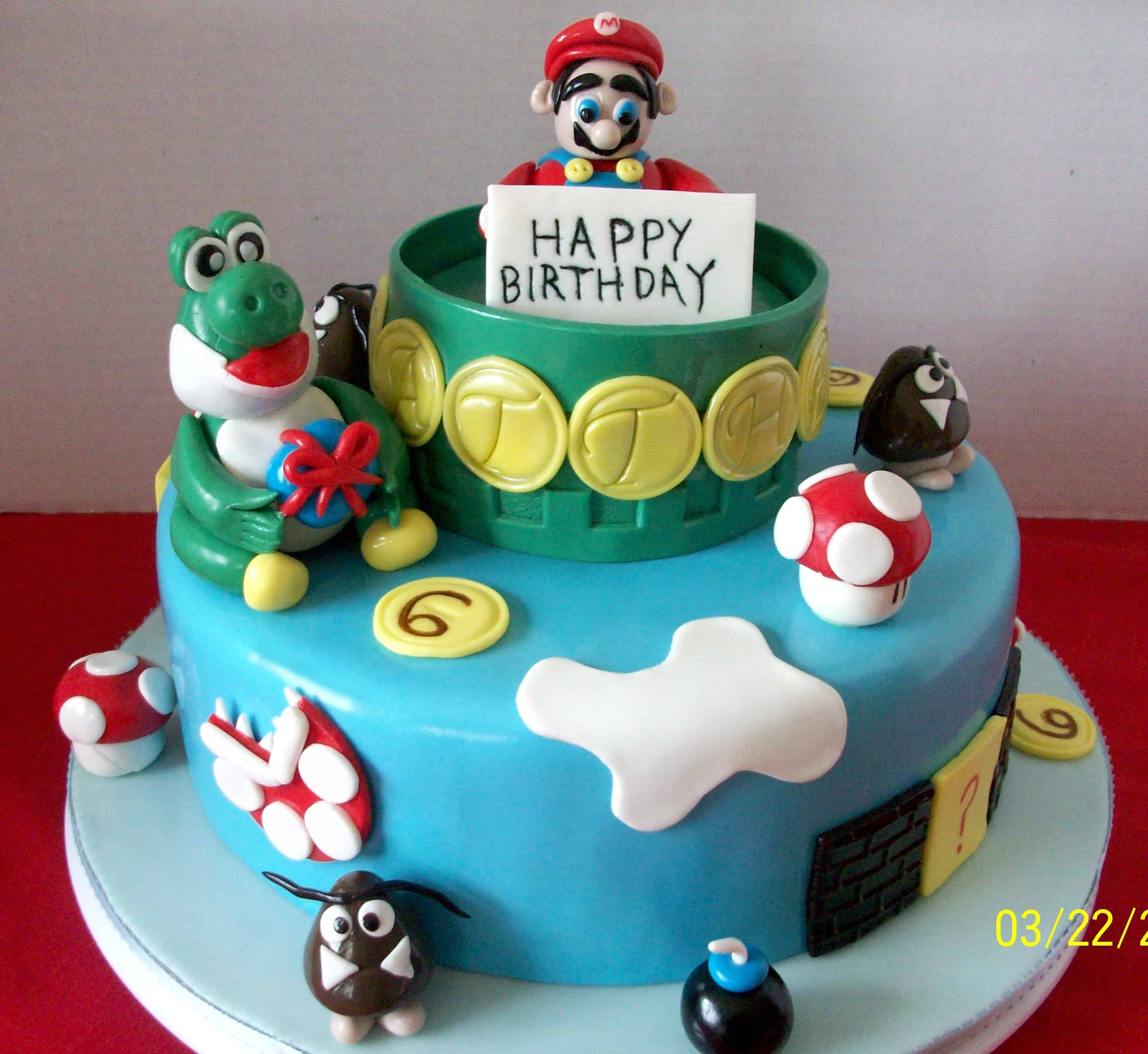 Easy to Follow Instructions for Making Some of Your Favorite Mario Cakes
