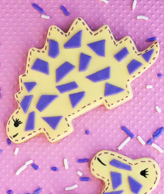 cute dinosaur cookies 3