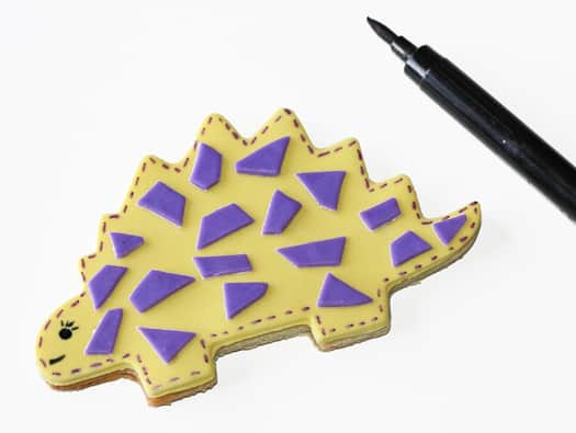 cute dinosaur cookies 5