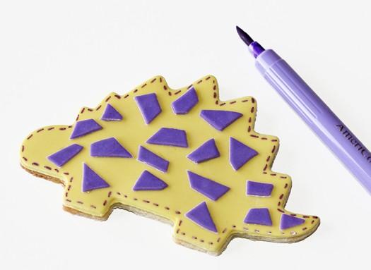 cute dinosaur cookies 6