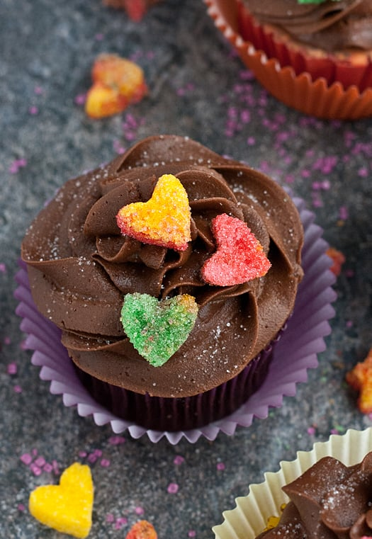 suagred heart cupcakes 02