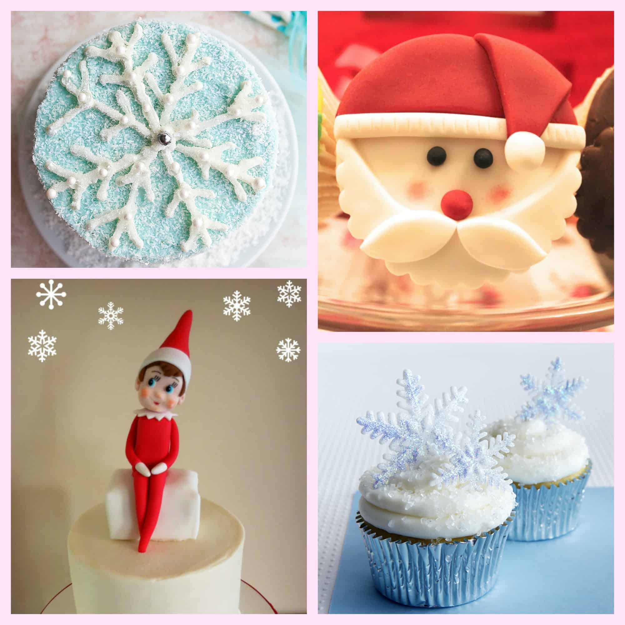 18 Christmas Cupcakes & Cookies for Sparkling Holidays!