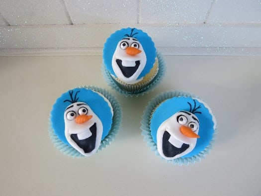 How To Make Olaf Cupcake Toppers Cakejournal Com