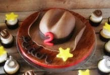 Cowboy Hat Cake