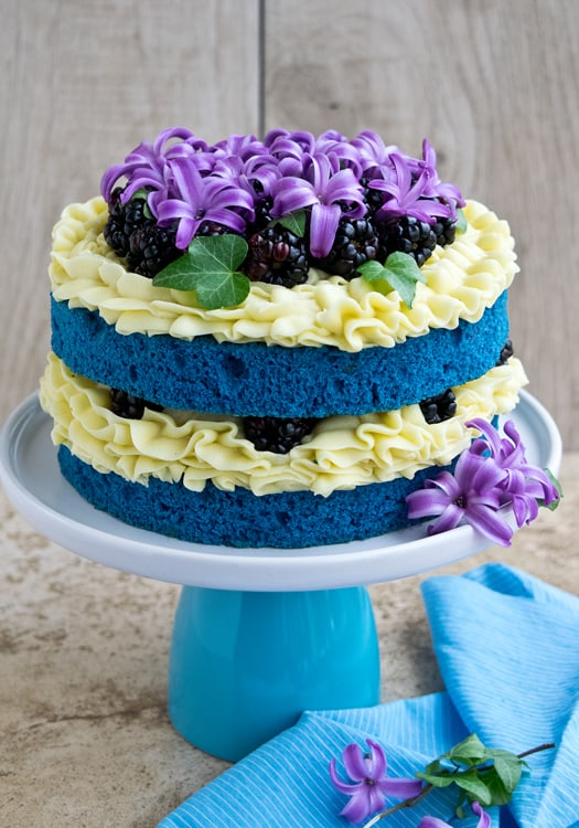 Blue Velvet Cake Recipe Milk