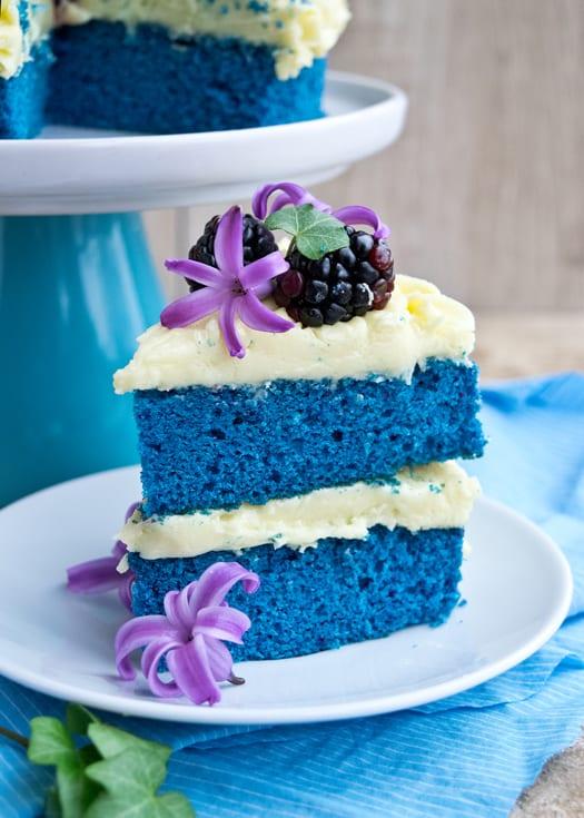 Blue Velvet Wedding Cake Blue Velvet Cake 2