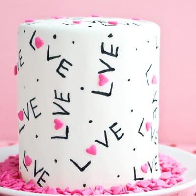 How to make a Love cake