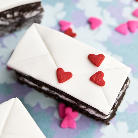 How To Make Mini Love Letter Cakes