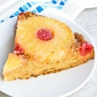 upside down pineapple cake