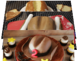 Tutorial: How to Make Cowboy Hat Cupcake Toppers