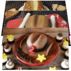 Cowboy Hat Cake Tutorial – Part 2