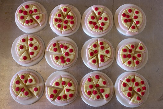 Pizza Cupcake Toppers