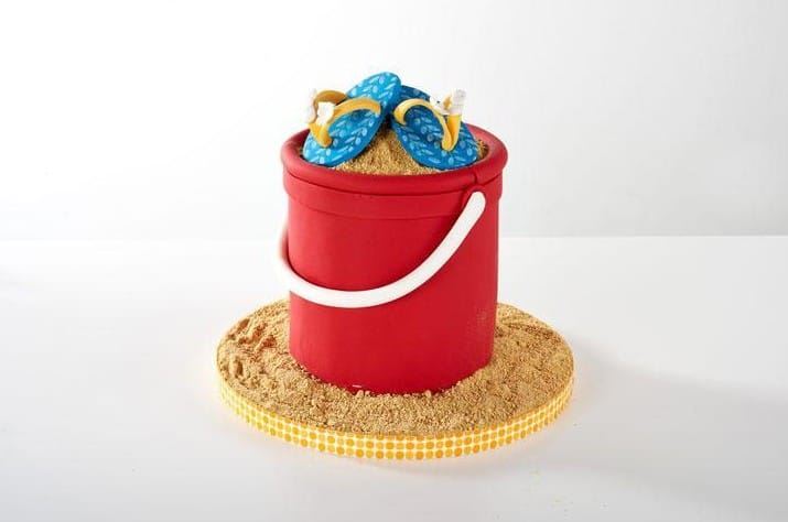 Flip-Flops-Cake-Topper
