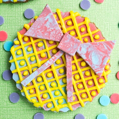 How To Make Colorful Bow Cookies