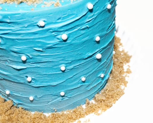beach themed cake 7