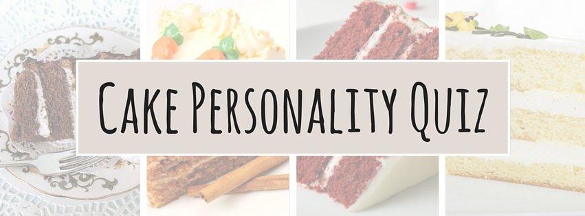 Cake Personality Quiz | CakeJournal.com