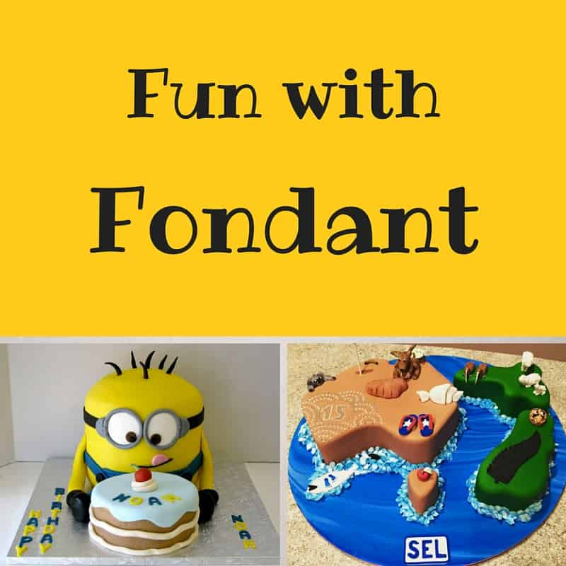 #FondantFriday – Fun With Fondant