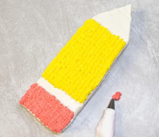 pencil cake 6