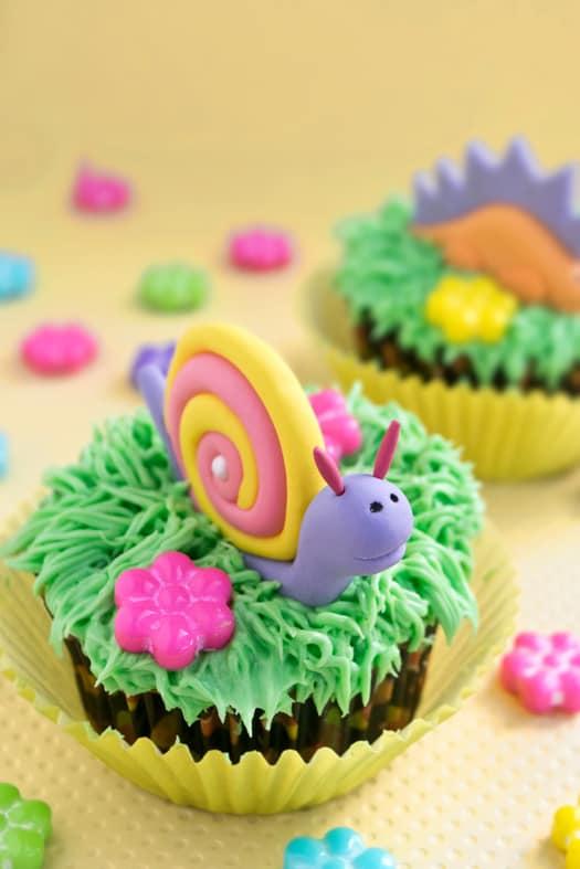 snail cupcakes 11