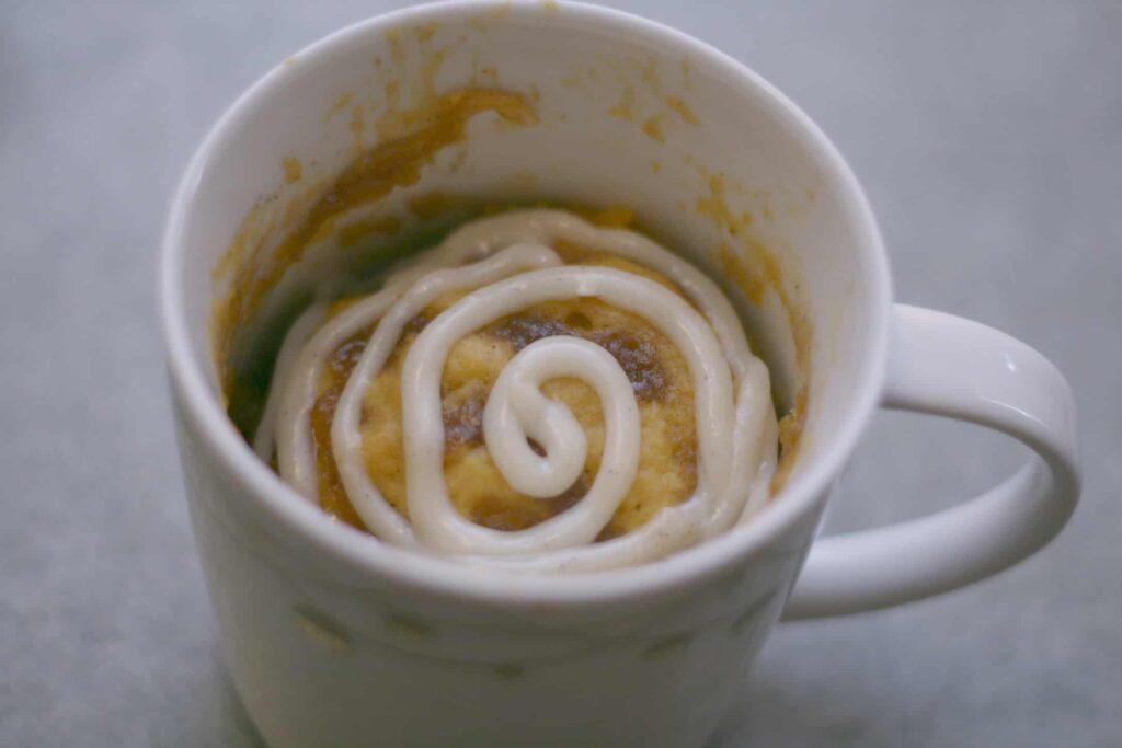 cinnamon swirl frosting
