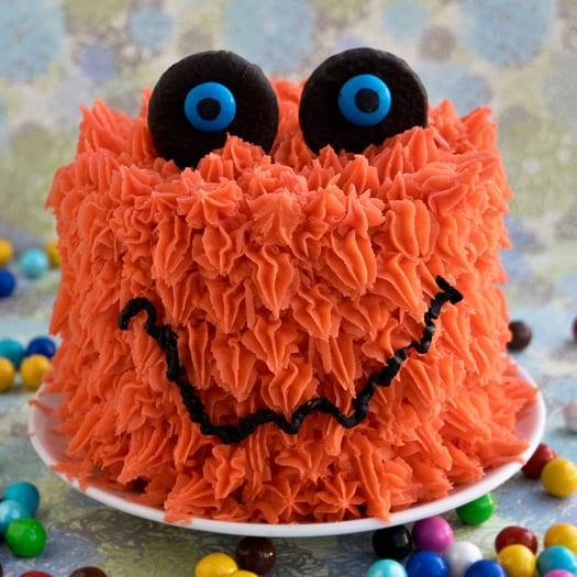 Cake Designs How To Make : How to Make a Monster Cake