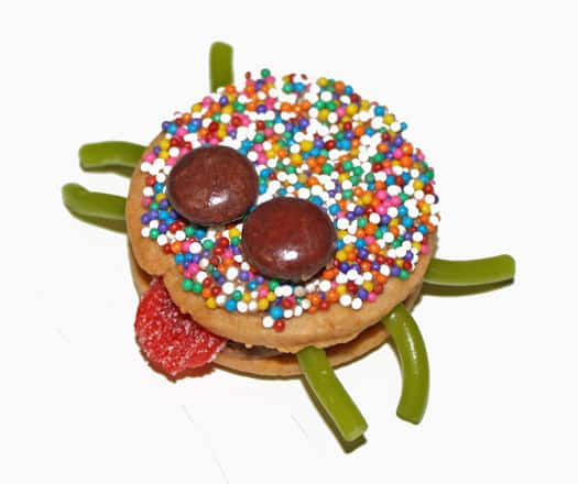 sassy spider cookies 4